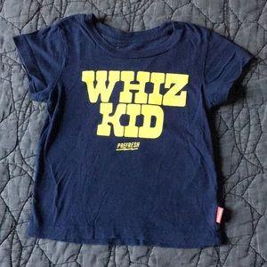 Prefresh Whiz Kid Tee Shirt size 2T